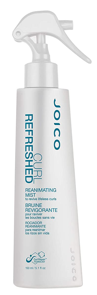 たぶんパケット過半数Joico Curl Refreshed Reanimating Mist for Curls - 5.1 oz by Joico