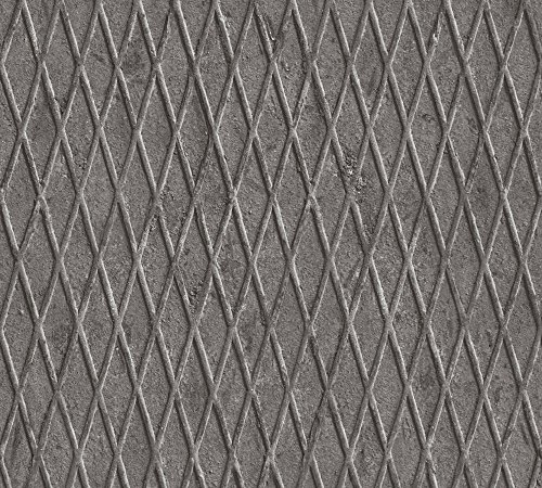 A.S. Création vliesbehang Happy Spring behang in vintage metaal Natuur 10,05 m (Länge) x 0,53 cm (Breite) grijs, zwart, wit