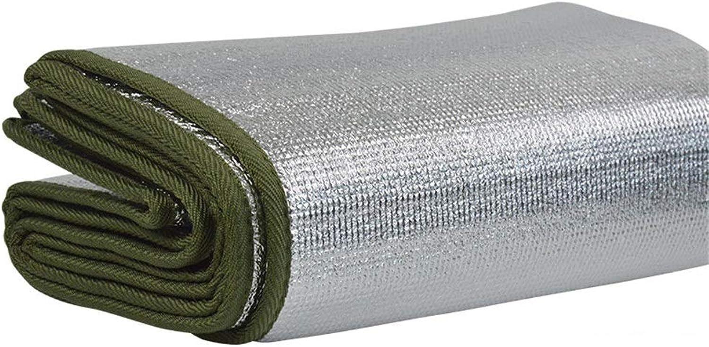 DoubleSided Metal Aluminum Film Mat, Folding Picnic Blanket, Green Lightweight Waterproof Outdoor Carpet  200X100cm 200X150cm 200X200cm  Thickness 7mm