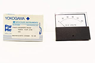 YOKOGAWA YE255-3 255320PZPZ WESCHLER 0-150V-DC Voltmeter Panel Meter