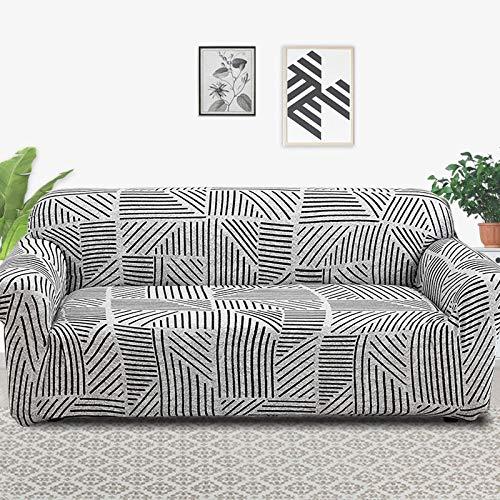 ASCV Funda de sofá elástica Fundas elásticas Funda de sofá Todo Incluido para Diferentes Formas Sofá Loveseat Silla Funda de sofá Estilo L A3 2 plazas