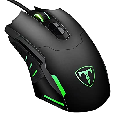 VicTsing Gaming Mouse Wired, 7200 DPI Programma...