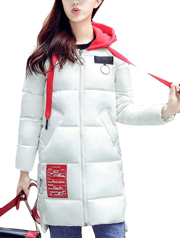 Alion Women's Winter Puffer Down Jacket Padded Parka