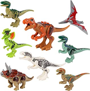 Bigib Dinosaur Jurassic World Toys ABS Fallen Indominus Rex Kingdom Park Toys Set