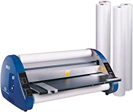 USI Thermal Roll Laminator Kit, UL-Listed CSL 2700 Laminates Films up to 27 Inches Wide, 3 Mil Thick on a 1 Inch Core; Includes 4 Rolls of Opti Clear Low-Temp Film, Industry Best 2-Year Warranty