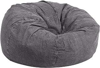 كرسي راحة بين باج جينز حجم كبير لون رمادي قاحل من ريجال إن هاوس - JBB0159S019