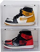 WanuigH Schoenendozen hardschoen opbergdoos schoenen opbergdozen met LIDS stapelbare basisschoen organizer bakken ruimte b...