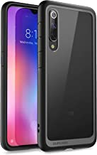 SUPCASE Xiaomi Mi 9 Case, Slim Fit Ultra-Thin Case Lightweight Unicorn Beetle Style Series Clear Protective TPU Bumper PC Premium Hybrid Case for Mi 9 (6.39 Inch)(Black)