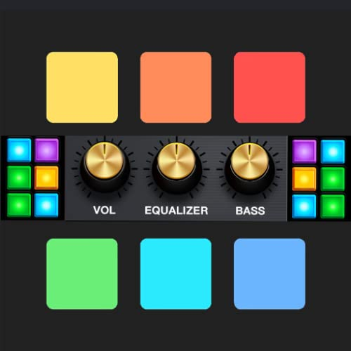 Drum Pads Dj Mixer - Make Music and Dj Beats