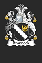 Braddock: Braddock Coat of Arms and Family Crest Notebook Journal (6 x 9 - 100 pages)