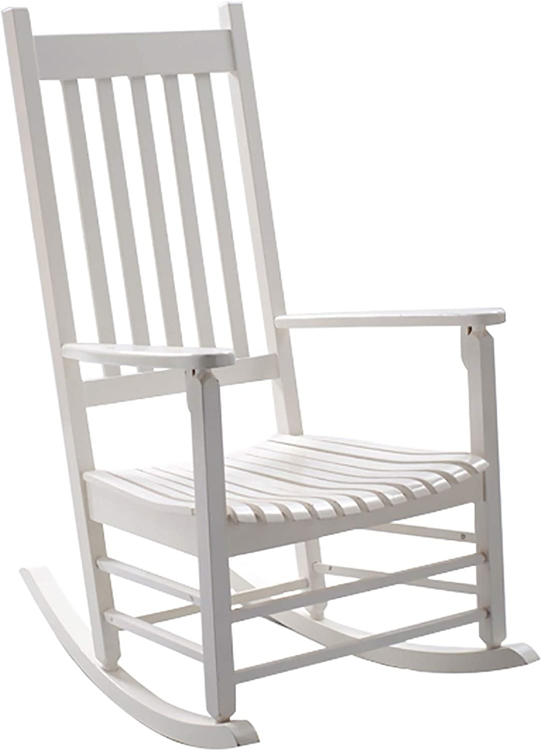MYLW Limited time for free shipping Wooden Beauty products Rocking Chairs for Indoor Rock Adults Outdoor Porch