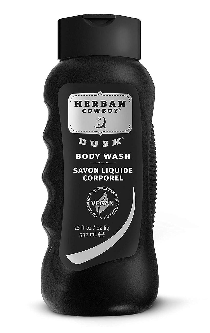 穀物アレキサンダーグラハムベルセッティングHerban Cowboy Body Wash, Dusk, 18 oz by Organic Grooming by Herban Cowboy