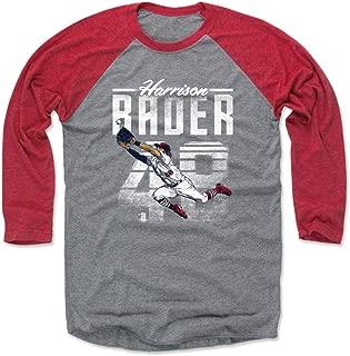 500 LEVEL Harrison Bader Shirt - St. Louis Baseball Raglan Tee - Harrison Bader Retro