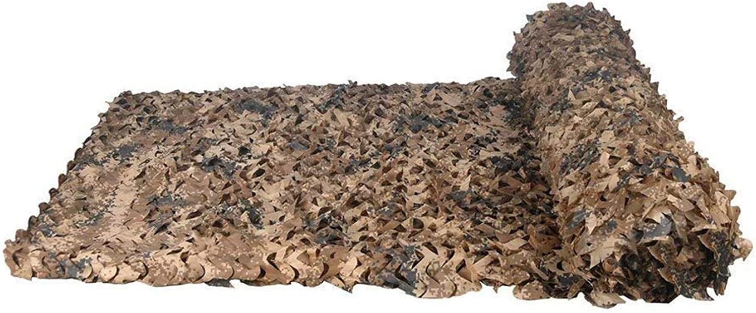 Camo Sunshade Camouflage Netting Jungle Shooting Hunting Hide Oxford Cloth Lightweight Themed Bedroom Dens Decoration (Size   10x10m)