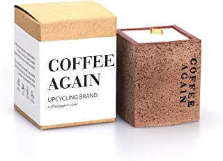 Coffee Again Soy Wax Candle, 2oz, Sustainable and Compostable (Spring Garden)