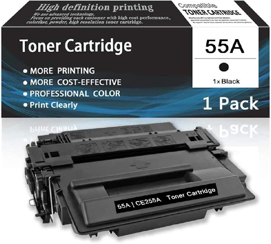 Ranking TOP17 Black55A CE255A Max 45% OFF 1-Pack TonerCartridgeCompatibleforHPPrin