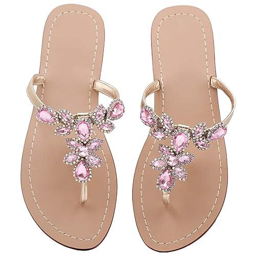 df1115c1d0959 Flat Low Heel Sandals  Amazon.com