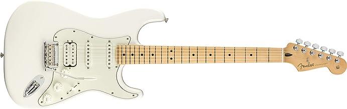 Fender Player Stratocaster HSS Electric Guitar - Maple Fingerboard - Polar White