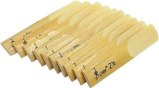 【The Best Deal】OriGlam 10pcs Alto Sax Saxophone Reeds 2.5 Reed, Alto bE Saxophone..