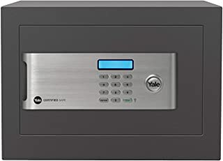 Yale Certified Home Safe, 18L capacity, £2000 cash rating (YSM/250/EG1/B)