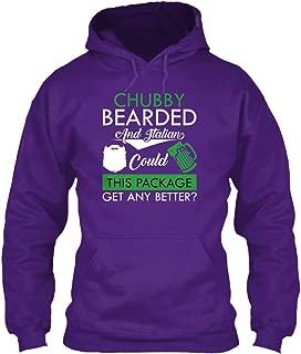 teespring Men's Chubby Bearded and. - Sweatshirt - Gildan 8Oz Heavy Blend Hoodie