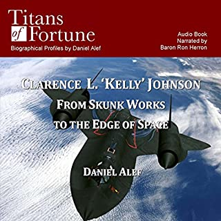 Clarence L. 'Kelley' Johnson audiobook cover art