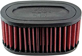 K&N Motorcycle Air Filter: High Flow Performance Air Filter Fits 2004-2019 Honda VT750 Shadow ALL Washable & Reusable OEM Replacement Air Filter HA-7504