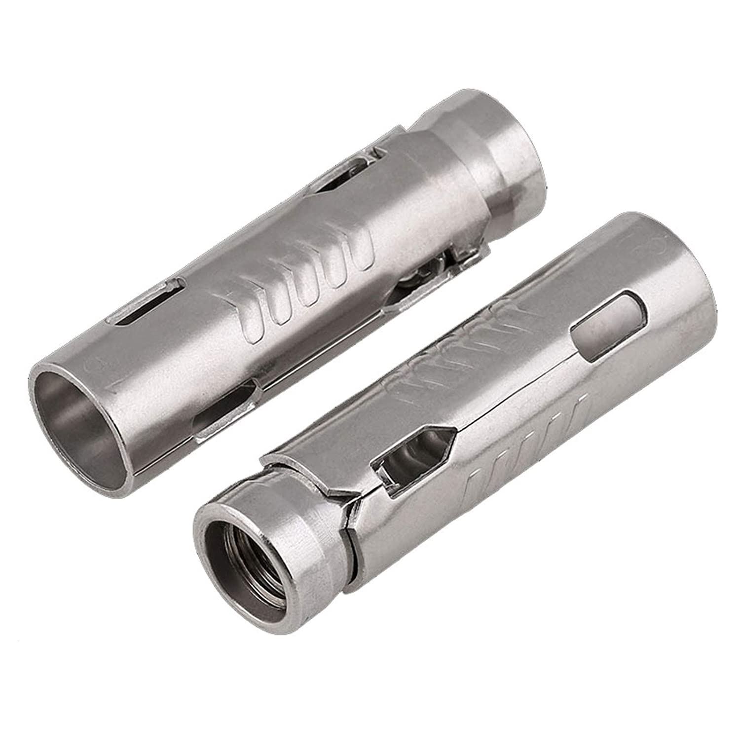 5 Pcs) L-A M8 304 Stainless Steel Expansion Tube Anchor Expansion Pipe Internal Expansion Bolt M8 for Solid Wall and Drywall Anchor