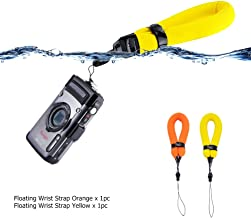 2-pack Pink /& Red Olympus Tough Canon D20 /& D30 Floats Your Device Nikon AW110 Floating Strap for Underwater GoPro 1 Year Warranty Panasonic Lumix Fujifilm Waterproof Camera Float