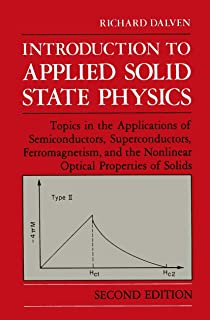 Introduction to Applied Solid State Physics: Topics in the Applications of Semiconductors, Superconductors, Ferromagnetism...
