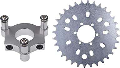 HGC 1.0 Compatible Pad For 1.5 Inch CNC Sprocket Adaptor For 1.5 Adaptor 1.5 Hub 60cc 66cc 80cc Motorized Bike Red