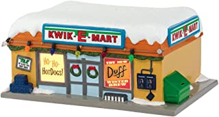 Department 56 The Simpson's Village from Kwik-E-Mart Lit House Figurine, 3.4 inch