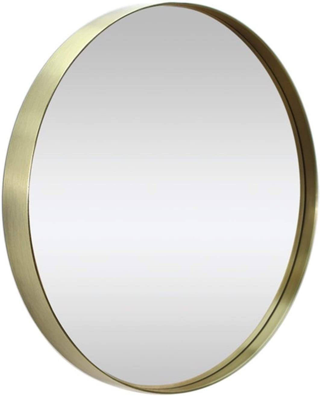 WLDSW New item Glass Panel Gold Framed Rounded Design Deep 12 Circle All stores are sold Set
