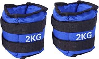 Ankle Weight, Wrist Weight Bearing Sandbags Adjustable Straps Training for Yoga for Gym