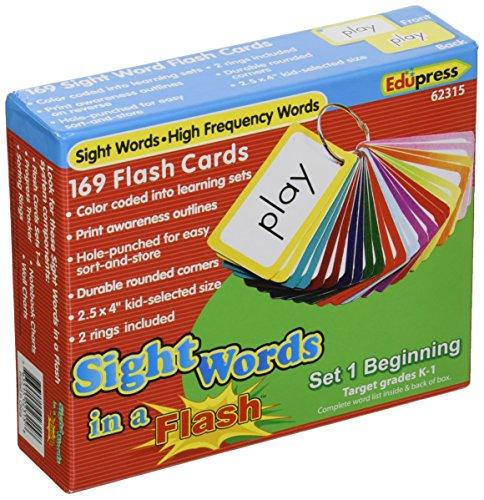 Edupress Sight Words in A Flash (Set 1)