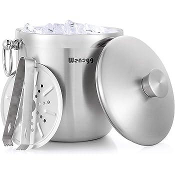 Amazon Com Oggi 7440 Stainless Steel Ice And Wine Bucket