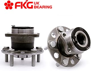 FKG 512333 Rear Wheel Bearing Hub Assembly fit for 2007-2013 Jeep Compass 4WD, 2007-2014 Jeep Patriot 4WD, 2007-2008 Dodge Caliber AWD, 5 Lugs Set of 2