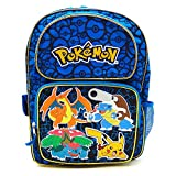 Pokemon Zoofy Full Size Blue 16 Backpack