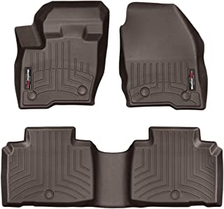 WeatherTech Custom Fit FloorLiner for MKX/Nautilus - 1st & 2nd Row (Cocoa)