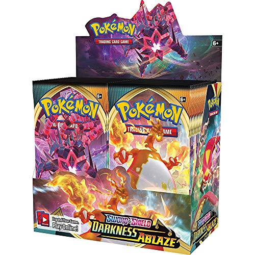 Pokemon Sword and Shield: Darkness Ablaze Booster Box (36 Booster Packs)