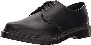 Dr. Martens Men's 1461 3-Eye Fashion Oxfords, Black, Leather, 6 M UK, 7 M US