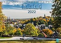 Bielefeld - Die freundliche Stadt am Teutoburger Wald (Tischkalender 2022 DIN A5 quer): Bielefeld mit den schoensten Plaetzen und Gebaeuden. (Monatskalender, 14 Seiten )