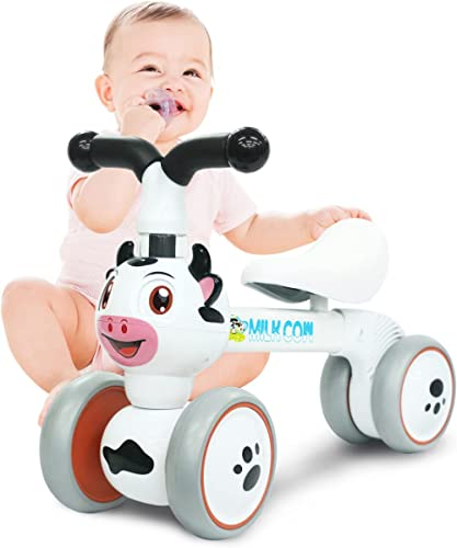 Baby Toddler Tricycle Bike No Pedals 10-36 Months Ride-on Toys Gifts Indoor Outdoor Balance Bike for One Year Old Boy...
