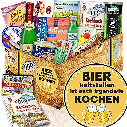 Bier kaltstellen - DDR Spezialitäten Box - Bier Männer Geschenk