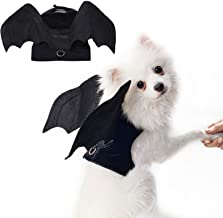 RYPET Pet Halloween Costume - Halloween Bat Wings Pet Costumes for Dogs Cats Halloween Party
