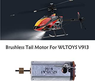 Fdrone 🛩🛩 V913-34 Helicopter Brushless Tail Motor Spare Part for WLTOYS V913 RC Helicopter