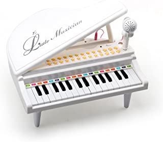 Amy&Benton Piano Keyboard Toy for Kids 31 Keys White