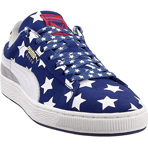 sports shoes f2e25 f33ba Red White Blue Shoes: Amazon.com
