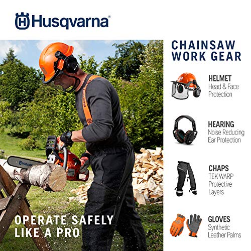 Husqvarna 16 Inch 130 Gas Chainsaw,Orange