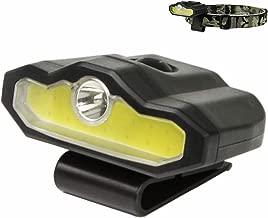 XULUOQI LED Cap Light, Portable Hands-Free Clip Cap Light - Rechargeable Headlamp Flashlight, Bright lumen light, hiking camping reading work fishing